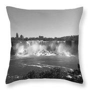 American Falls - Autumn - B N W Throw Pillow