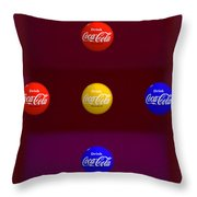 American Figure Throw Pillow