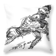 American Football 2 Throw Pillow