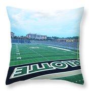 American Football Stadium Throw Pillow