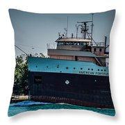 American Fortitude Throw Pillow