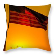 American Heritage Throw Pillow