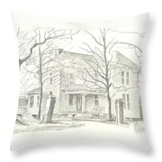 American Home II Throw Pillow