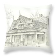 American Home Throw Pillow