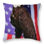 American Honor Throw Pillow