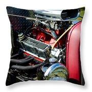 American Hotrod Throw Pillow