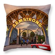 American Icons Throw Pillow