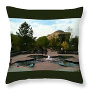 American Indian Museum Throw Pillow