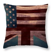 American Jack I Throw Pillow by April Moen