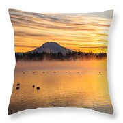 American Lake 2010 Throw Pillow