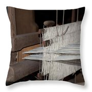 American Loom 1 Of 3 Throw Pillow