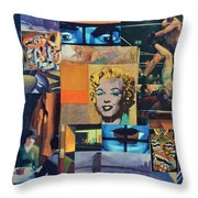 American Masters Throw Pillow