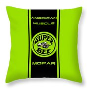 American Muscle - Mopar II Throw Pillow