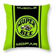 American Muscle - Mopar Throw Pillow