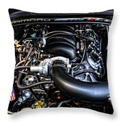 American Muscle Car Power Throw Pillow