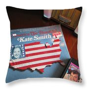 American Music Throw Pillow