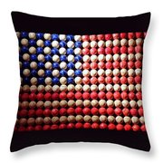 American Pastime Throw Pillow