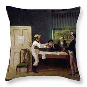American Politicians, 1844 Throw Pillow