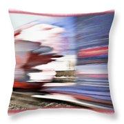 American Rail Throw Pillow