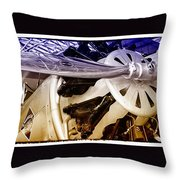 American Railway Express Boeing 40b Throw Pillow