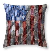 American Sacrifice Throw Pillow