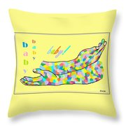 American Sign Language Baby Throw Pillow