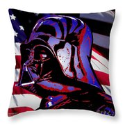 American Sith Throw Pillow