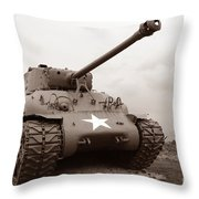American Tank Throw Pillow