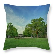 American University Quad Throw Pillow