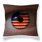 American View Throw Pillow