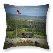 American Wagon Throw Pillow
