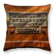 Americana - Radio - Remember What Radio Was Like Throw Pillow