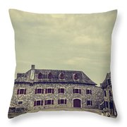 Fort Ticonderoga Throw Pillow