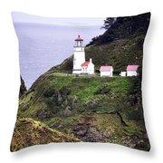 America's Favorite Lighthouse Throw Pillow