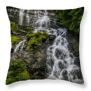 Amicola Falls Throw Pillow