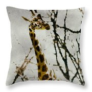 Amid The Trees Throw Pillow