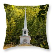 Amidst The West Virginia Woods Throw Pillow