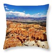 Among The Canyon Throw Pillow