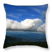Among Clouds  Throw Pillow