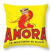 Amora Throw Pillow