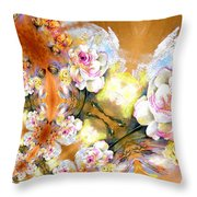 Amour Infinity Throw Pillow