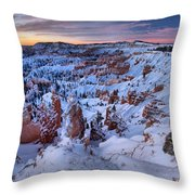 Amphitheater Sunrise Throw Pillow