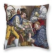 Amputation, 1540 Throw Pillow