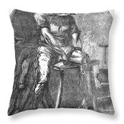 Amputation, 1865 Throw Pillow