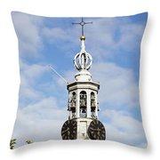 Amsterdam - Munttoren Throw Pillow