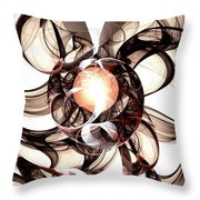 Amulet Of Chaos Throw Pillow