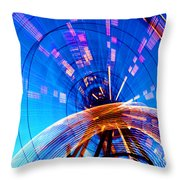 Amusement Park Rides 1 Throw Pillow