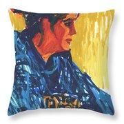 Amy At Jeff's Throw Pillow