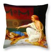 An Afternoon's Amusement Throw Pillow