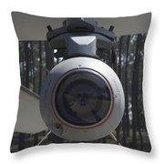 An Agm-65 Maverick Missile Mounted Throw Pillow